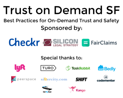FairClaims Trust on Demand SF Event Recap